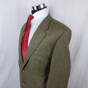 Club Room 46R Cashmere Blend Sport Coat Blazer
